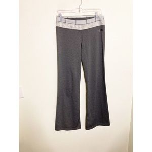 The North Face Gray Bootcut Double Waist Band Yoga